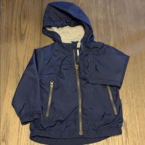 GAP toddler boy jersey lined windbreaker size 2T